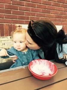 ice cream kiss